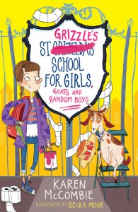 St Grizzles School for Girls_Karen McCombie copy